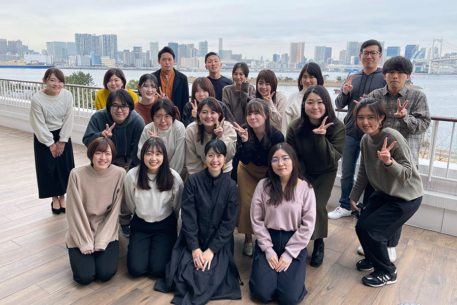2021年度経営方針発表会inお台場