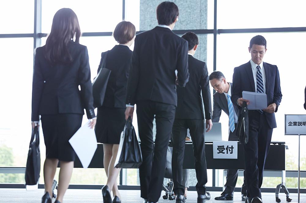 ①合同説明会やイベントがなくなり、新しい会社に出会えない